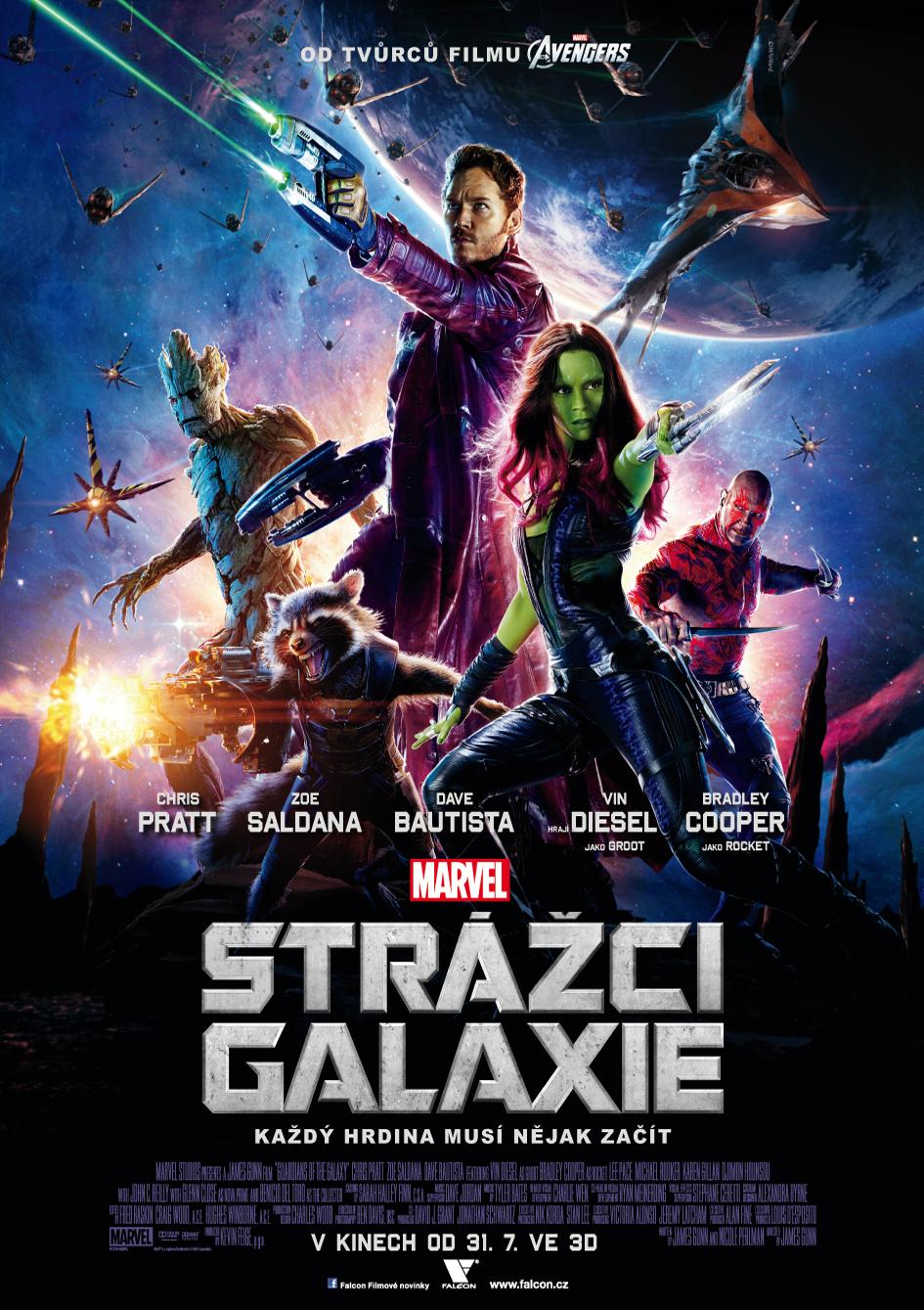 Strážci galaxie - plakát