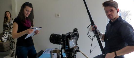 Fotka z natáčení Vysněné domácnosti