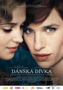 Dánská dívka - plakát