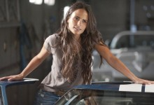 JORDANA BREWSTER is Mia in Fast Five.