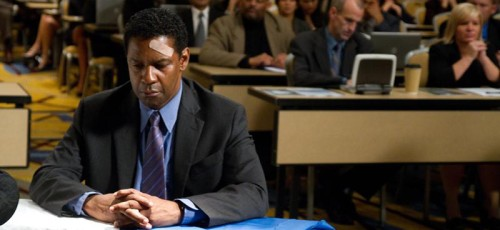 Denzel Washington is Whip Whitaker in FLIGHT,  from Paramount Pictures..F-05689